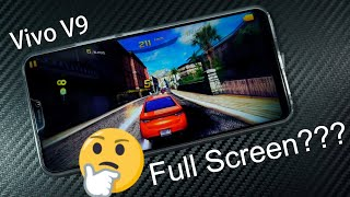 vivo v9 watch youtube videos and play games in full screen