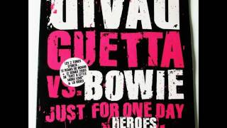 Скачать David Guetta Vs David Bowie Just For One Day Heroes Club Mix