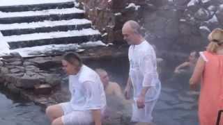 Ачаирский Монастырь - Крещение !!! Омск - 2015.