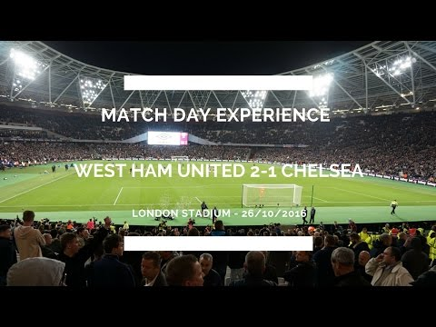 Groundhop At The London Stadium - West Ham United Vs. Chelsea - ALL HELL BREAKS LOOSE!!