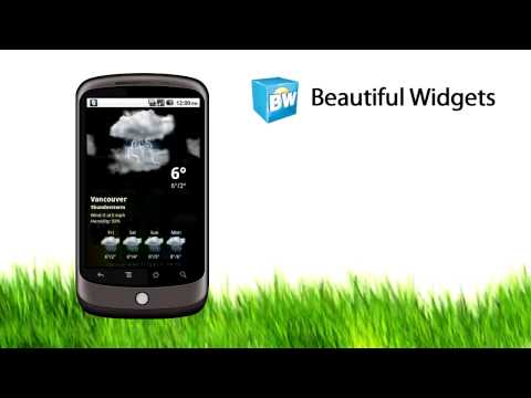 Android - Beautiful Widgets Video + Download APK