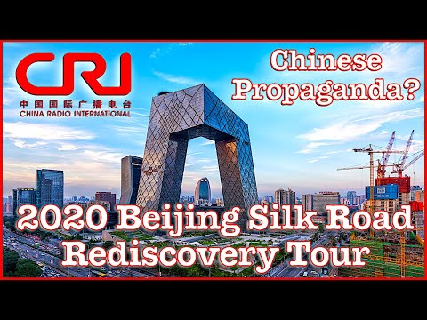 China Radio international - Silk Road Tour of Beijing (Pt 1) Is it CPC Propaganda? Links below