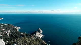 Симеиз 8 Января 2019 Крым Вид с горы Кошка