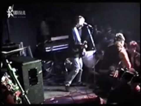 Nirvana-Kurt Cobain Stage Dive Fight (Love Buzz)