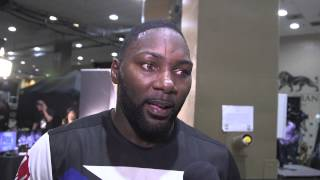 UFC 191: Anthony Johnson Backstage Interview