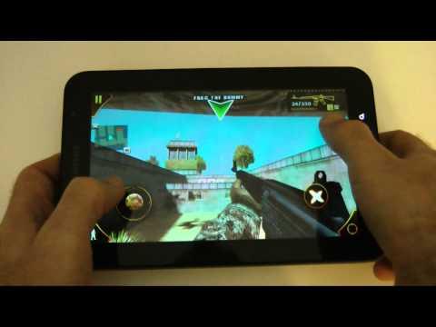 Samsung Galaxy Tab Gaming Experience