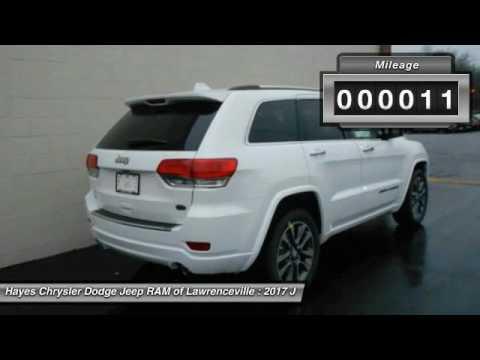 2017 jeep grand cherokee lawrenceville ga l743050 youtube. Black Bedroom Furniture Sets. Home Design Ideas