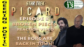 STAR TREK: PICARD Episode 8 REACTION & REVIEW!
