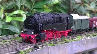 DB Baureihe 95 Spur Null im Garten
