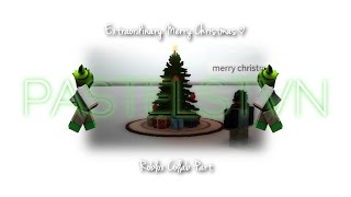 ROBLOX Music Video - Extraordinary Merry Christmas
