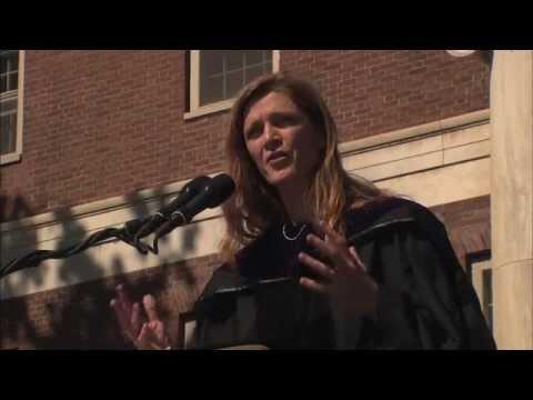 Ambassador Samantha Power addresses UVM