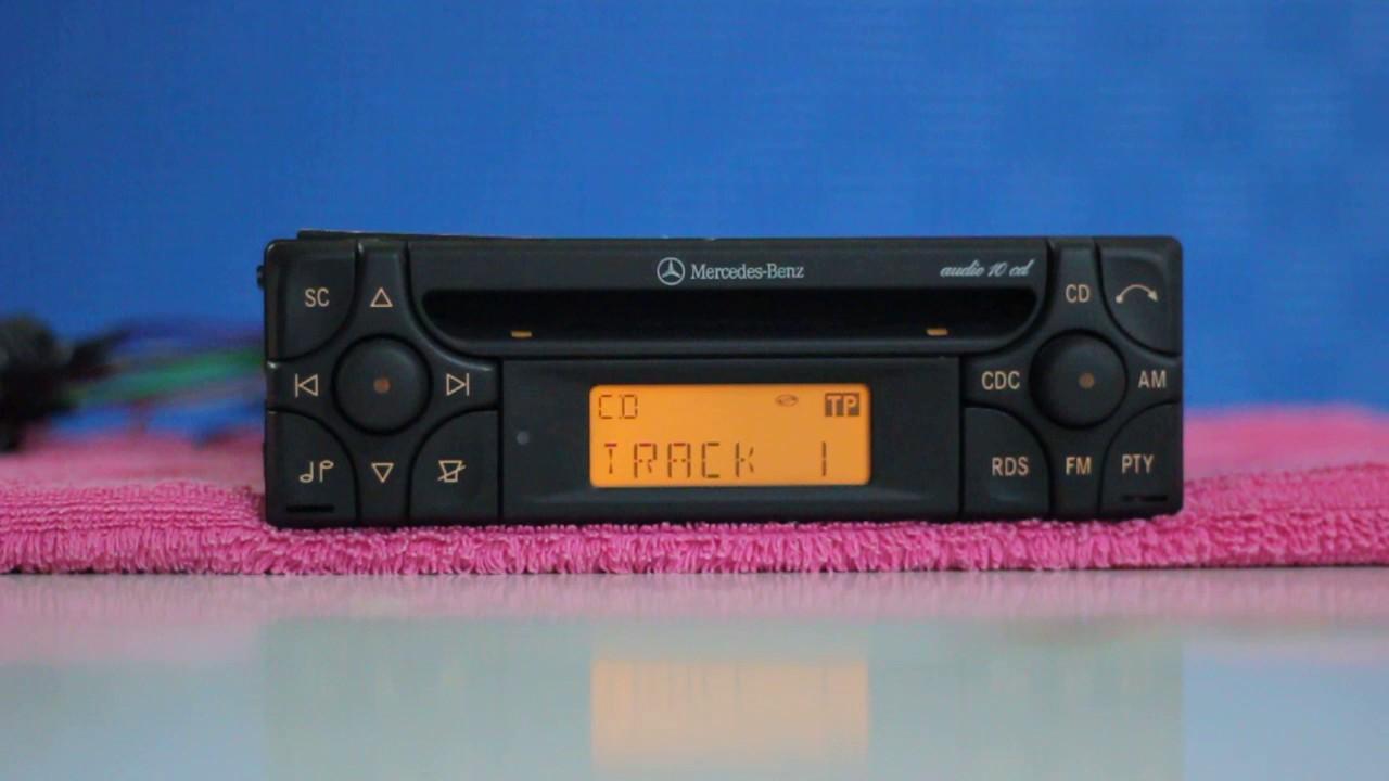 Mercedes Car Audio CD MF2910 with AUX MODE by Vasilen Lazarov