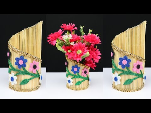 Beautiful Flower Vase Idea for home decoration | home decoration ideas | diy crafts