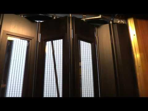 old ASEA? mod. traction elevator @ Essinge Brogatan 10, Lilla Essingen, Stockholm, Sweden.