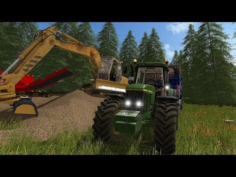 Farming Simulator 17 - Forestry and Farming on Woodshire 065 thumbnail