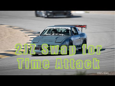 2JZ swap for time attack 240sx