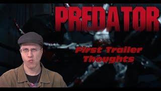 The Predator First Trailer - A Geeky Ramble