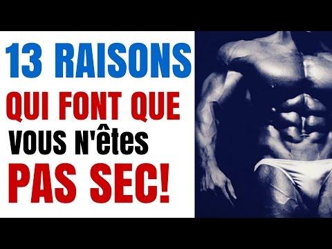 Musculation: Les 13 Raisons qui Font Que VOUS N'êtes PAS SEC !!