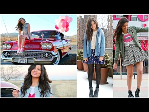 Date Outfit Ideas + NO heat curls overnight! Bethany Mota - Date Outfit Ideas + NO Heat Curls Overnight! - YouTube