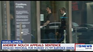 Neil Erikson Guilds Anti Feminist Andrew Nolch.(County Court Melb) Nine + Seven News