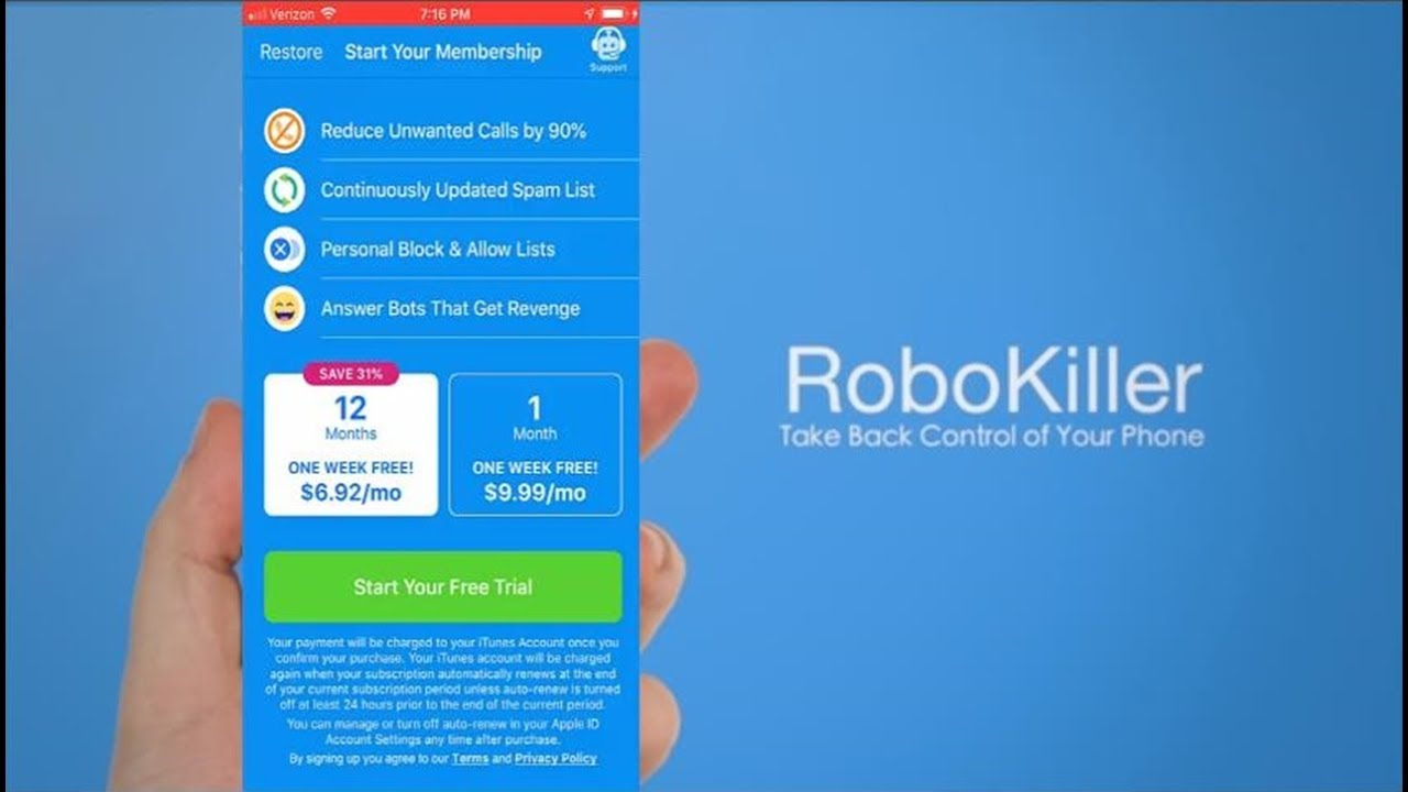 RoboKiller iPhone App: Is This Up And Up With Its Pricing?