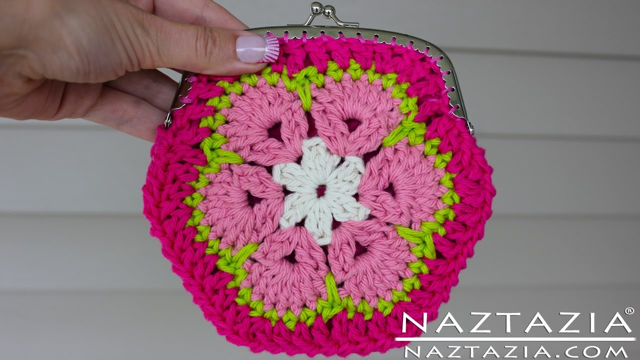Diy Learn How To Crochet African Flower Granny Hexagon Coin Change