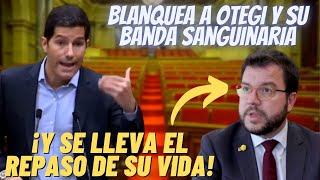 💥¡BRUTAL!💥Este JOVEN diputado CATALÁN PULVERIZA a Pere ARAGONÉS por BLANQUEAR a OTEGI y su BANDA