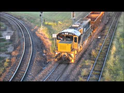 Australian Trains - Townsville's Queensland Nickel ore trains 1996-2016
