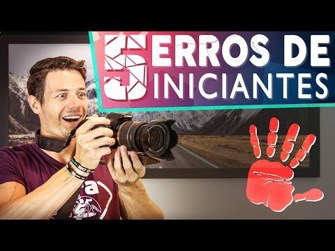 5 ERROS DE INICIANTES NA FOTOGRAFIA (+ Como Resolver Eles)