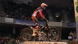 Course d'obstacles spectaculaire au Trial Indoor de Bourgogne