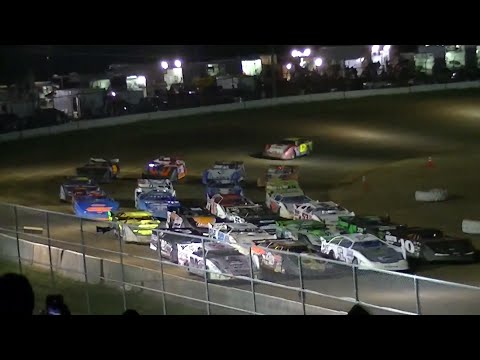 RUSH Crate Late Model Feature | McKean County Raceway | 8-30-14