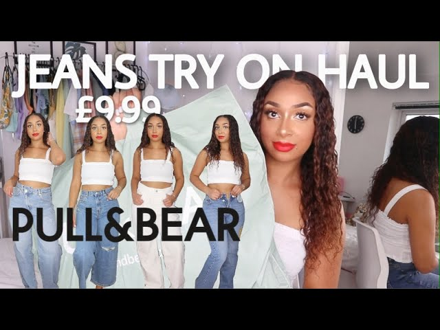 Pull And Bear Sale Jeans Try On Haul 2020 Youtube