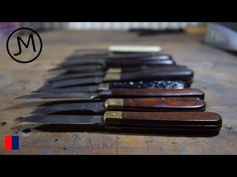 Restoring 12 Vintage Folding Knives [39]