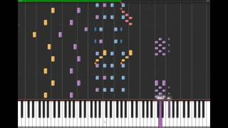 Beetlejuice Theme (Full Instrumental)  on Synthesia