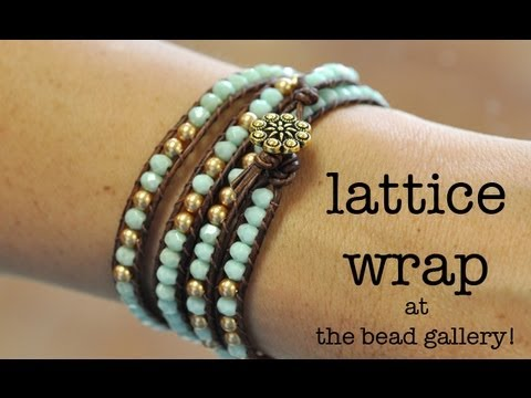 Lattice Wrapping at The Bead Gallery, Honolulu