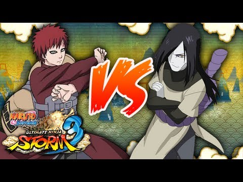 Naruto shippuden ultimate ninja storm 3 gaara vs for Cuarto kazekage vs orochimaru