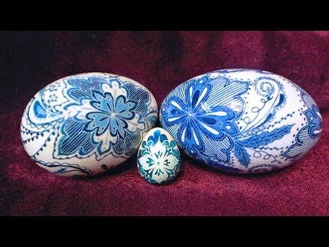 how to make ukrainian easter eggs