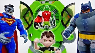 Rotate, Turn, Launch~! Ben 10 Alien Creation Chamber - ToyMart TV