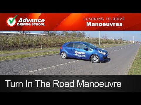 Turn In The Road / 3 Point Turn  |  Learn To Drive: Manoeuvres