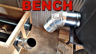 How We Installed the Rocket Mass Heater Bench...and did it work?