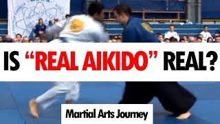 """Many people tell me that the style """"Real Aikido"""" is Aikido which re..."""