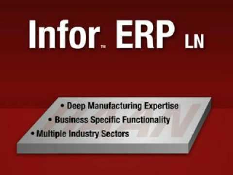 IBM and Infor ERP LN demo