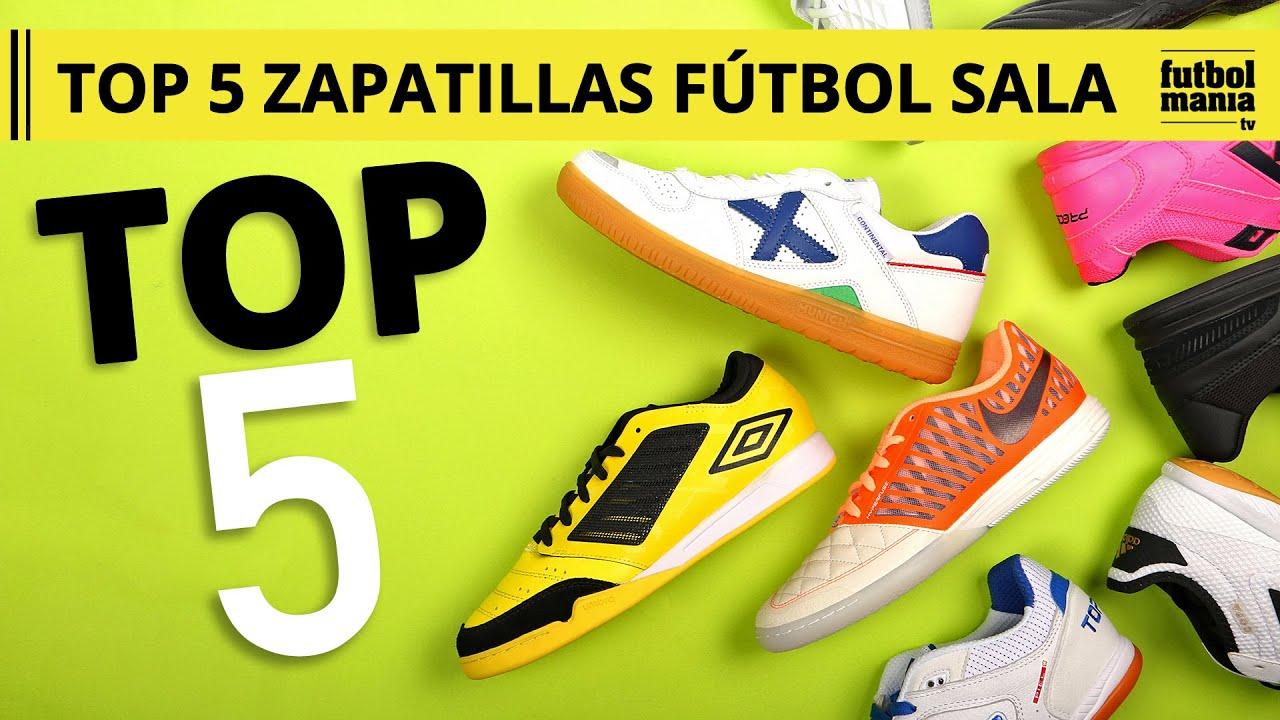 ventas al por mayor fotos nuevas 100% de satisfacción TOP 5 ZAPATILLAS DE FÚTBOL SALA Pretemporada 2019