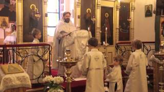 Nabożeństwo w parafii prawosławnej pw. Zaśnięcia Najświętszej Marii Panny w Krakowie