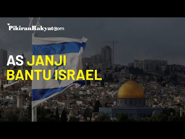 Ingin Jadikan Negara Terkuat di Timur Tengah, AS Berjanji akan Terus Bantu Israel