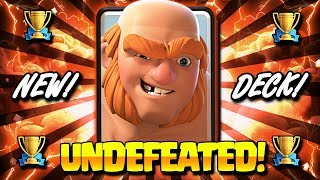 #1 NEW LADDER DECK IN CLASH ROYALE! NEW META GIANT COMBO!!