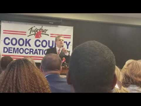 Aaron Goldstein at Cook County Democratic Party