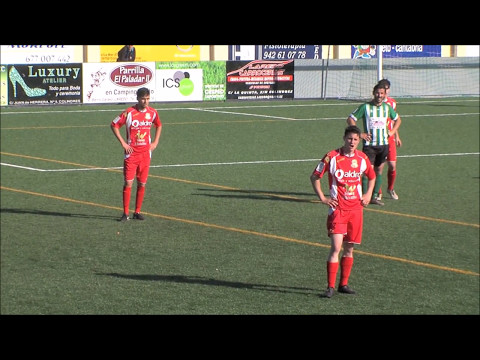 Diego Sanz - Third division game - Spanish soccer players