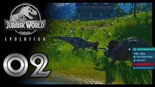 Dinofight - Es gibt was auf die Hörner!! | Jurassic World Evolution #02