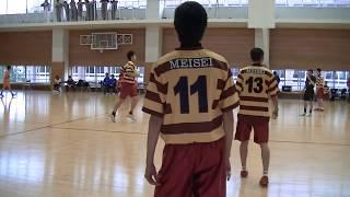 ハンドボール 東京都高等学校 関東大会予選 明星対八王子(後半)